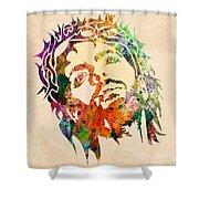 Jesus Christ 3 Shower Curtain