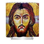 Jesus Christ Mandylion Shower Curtain