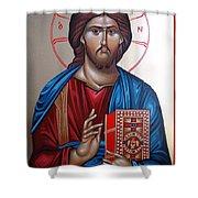 Jesus Christ Our Savior Shower Curtain