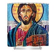 Jesus Christ The Pantocrator I Shower Curtain