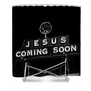 Jesus Coming Soon Shower Curtain