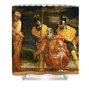 Jesus Healing The Servant Of A Centurion Shower Curtain