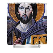 Jesus Icon Shower Curtain