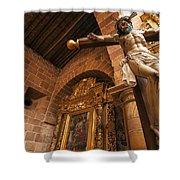 Jesus In Barichara Shower Curtain