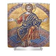 Jesus Mosaics Shower Curtain