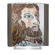 Jesus Our Saviour Shower Curtain