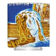 Jesus Paid It All Shower Curtain