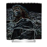 Jesus Preaching On The Mount Shower Curtain