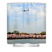 Jet Blue Airlines Shower Curtain