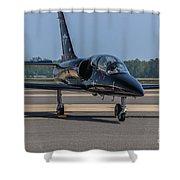 Jet Shower Curtain