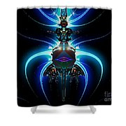 Jet Pack Shower Curtain