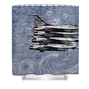 Jetsvangogh Shower Curtain