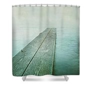Jetty Shower Curtain by Priska Wettstein
