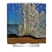 Jetty Splash 8 10/1 Shower Curtain