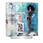 Jeux De Seduction In Dublin 02 Shower Curtain