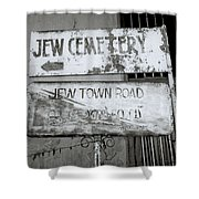 Jew Town In Cochin Shower Curtain
