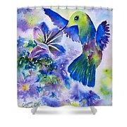 Jewel In Flight Shower Curtain