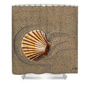 Jewel On The Beach II Shower Curtain