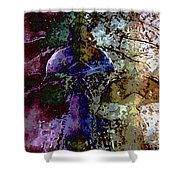 Jewel Tones Shower Curtain