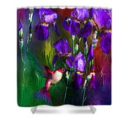 Jewels Of Summer Shower Curtain