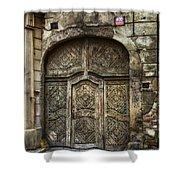 Jewish Quarter Doorway Shower Curtain