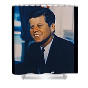 Jfk John F Kennedy Shower Curtain by Official White House Photo