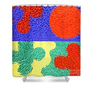 Jigsaw Pieces Shower Curtain