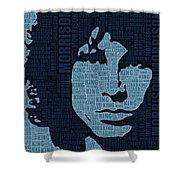 Jim Morrison The Doors Shower Curtain
