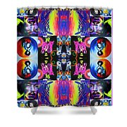 Jimi Kaleidoscope I Shower Curtain