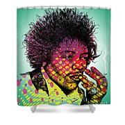 Jimmie Hendrix  Shower Curtain