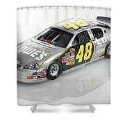 Jimmie Johnson No 48 Shower Curtain