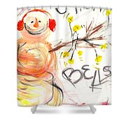 Jingle Bells Shower Curtain