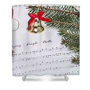 Jingle Bells Shower Curtain