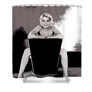 Joan Blondell Warner Brothers Publicity Photo Early 1930's-2014 Shower Curtain