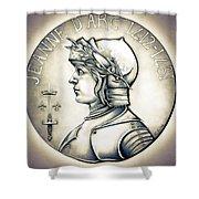 Joan Of Arc - Original Shower Curtain