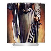 Joan Of Sharc Shower Curtain