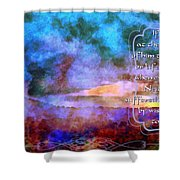 Job 31 29 30 Shower Curtain