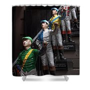 Jockeys Shower Curtain