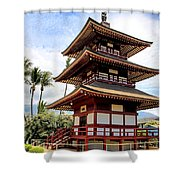 Jodo Mission Shower Curtain