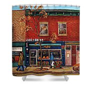 Joe Beef Restaurant Montreal Shower Curtain
