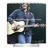 Musician Joe Nicholas Shower Curtain