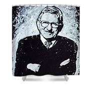 Joe Paterno Shower Curtain by Chris Mackie