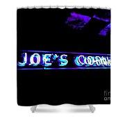 Joe's Corner Shower Curtain
