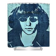 Joey Ramone Shower Curtain