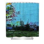 Joga Bonito - The Beautiful Game Shower Curtain