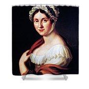 Johanna Wagner (1774-1848) Shower Curtain