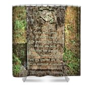 John 5 28 29 Shower Curtain