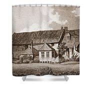 John Bunyans Meeting House, Early 19th Shower Curtain