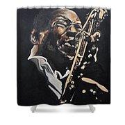 John Coltrane Shower Curtain