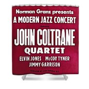 John Coltrane Quartet In Sweden Shower Curtain